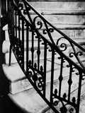 Steps and Iron Railing Photographic Print by Brian Cencula
