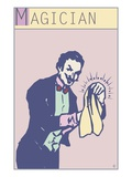 Magician Giclee Print by Steve Collier