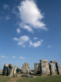 Menhirs at Stonehenge Photographic Print by Kevin Schafer