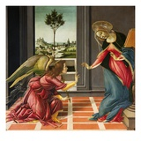 Annunciation (1489-1490) Reproduction procédé giclée par Sandro Botticelli