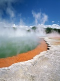 Champagne Pool at Wai-o-tapu Thermal Park Photographic Print by Greg Probst