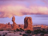 Balanced Rock at Arches National Park Photographic Print by George H.H. Huey