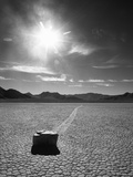 Rock at Racetrack Playa Photographic Print by Aaron Horowitz