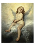 Sleeping Angel Giclee Print by Leon Basile Perrault