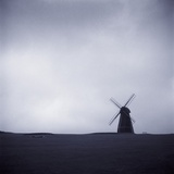 Windmill Under Gray Sky Photographic Print by Kevin Muggleton