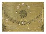 La Margarete, Tapetenmuster Giclée-Druck von William Morris