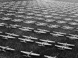 Hundreds of B-29 Flying Fortresses Await Scrap Heap Photographic Print by  Bettmann