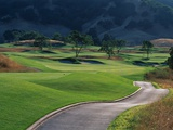 Cartpath Alongside a Fairway Photographic Print by Morton Beebe