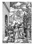 The Visitation Giclee Print by Albrecht Durer