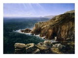 The Land's End, Cornwall Giclee Print by Thomas Creswick