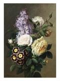 Spring Bouquet Giclee Print by Virginie De Sartorius