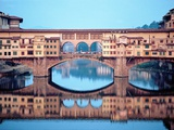 Ponte Vecchio over the Arno River Photographic Print by Ron Solomon