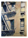 Fire Escapes III Giclee Print by Patti Mollica