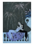 The Fire Giclee Print by Georges Barbier