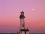 Lighthouse by Beach at Dusk Photographic Print by Craig Tuttle