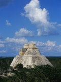 Pyramid of the Magician at Uxmal Photographic Print by Danny Lehman