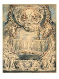 The Fall of Man Premium Giclee Print by William Blake