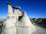 Badlands Rock Formations Photographic Print by Tom Bean