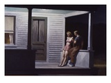 Summer Evening Premium Giclee Print by Edward Hopper