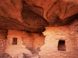 Anasazi Cliff Dwelling Ruins at Red Butte Photographic Print by David Muench