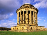 Mausoleum in the Grounds of Castle Howard Photographic Print by S. Vannini