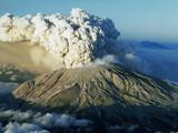 Gary Braasch - 1980 Eruption of Mount St. Helens Fotografická reprodukce