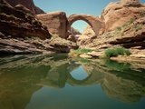 Lake Powell and Rainbow Bridge Photographic Print by David Muench