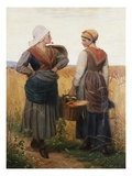 The Rivals Giclee Print by Charles Edward Perugini