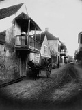 Street in St. Augustine, Florida Photographic Print
