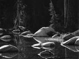 Lake and Rocks by Brett Weston Photographic Print by Brett Weston