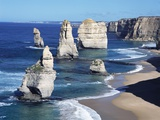 Twelve Apostles Seastacks Fotografie-Druck