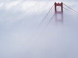 Golden Gate Bridge Tower Surrounded by Fog Photographic Print by Roger Ressmeyer