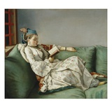 Portrait of Marie Adelaide of France Giclee Print by Jean-Etienne Liotard