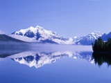 Mountains and Lake McDonald Photographic Print by Steve Terrill