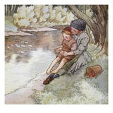 Pat a Cake, Pat a Cake, Baker&#39;s Man Giclee Print by Frederick Richardson
