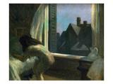 Moonlight Interior Premium Giclee Print by Edward Hopper