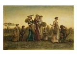 Gleaners Going Home Giclee Print by Kate Greenaway