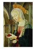 Detail of the Virgin Mary from The Annunciation Giclee Print by Antoniazzo Romano