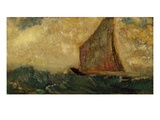 The Mystical Boat Giclee Print by Odilon Redon