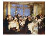Elegant Soiree Giclee Print by Albert Chevallier Tayler