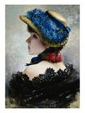 Pretty as a Picture Giclee Print by Vittorio Matteo Corcos