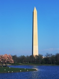 Washington Monument and Lake Photographic Print by Hisham Ibrahim