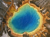 Aerial View of Grand Prismatic Geyser Photographic Print by Gavriel Jecan