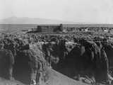 Acoma from the South Photographic Print by Edward S. Curtis