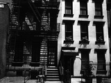Two Apartment Buildings, Manhattan, 1944 Photographic Print by Brett Weston