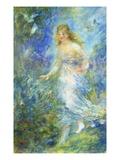Spring Giclee Print by Pierre Auguste Renoir