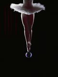 Ballerina Balancing on a Bubble Photographie par Charles Smith