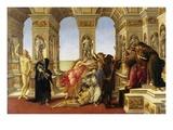 Calumny Giclée-Druck von Sandro Botticelli