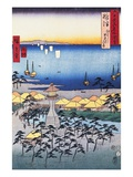 Print of Coastal Scene by Hiroshige Giclee Print by Stefano Bianchetti