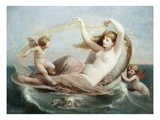 The Birth of Venus Premium Giclee Print by Henri Pierre Picou